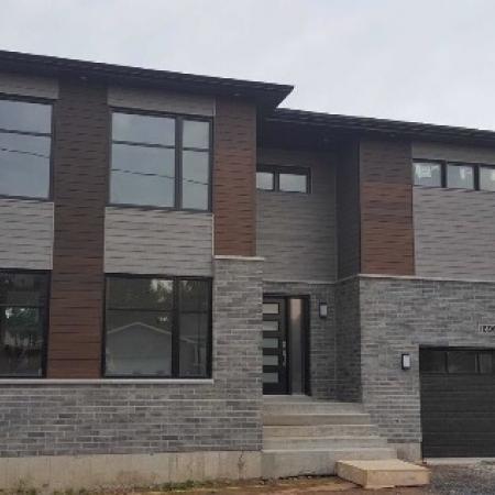 Nouvelle construction résidentielle